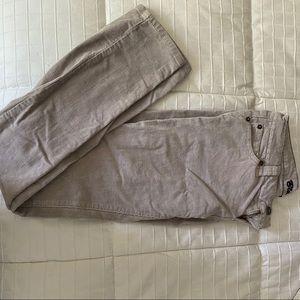 Blue Asphalt Corduroy Pants